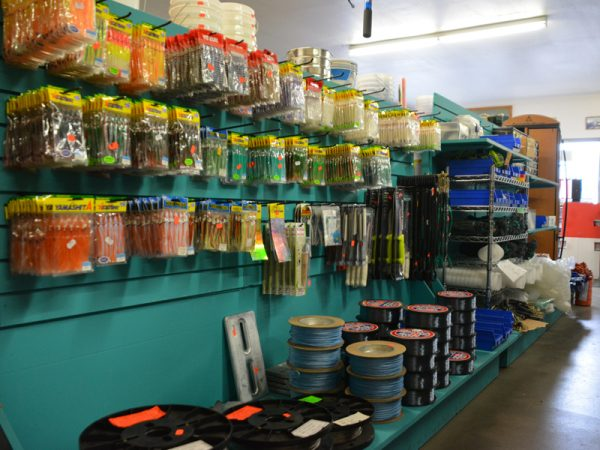 Fishing Supplies at Norvell's in Fort Bragg, CA