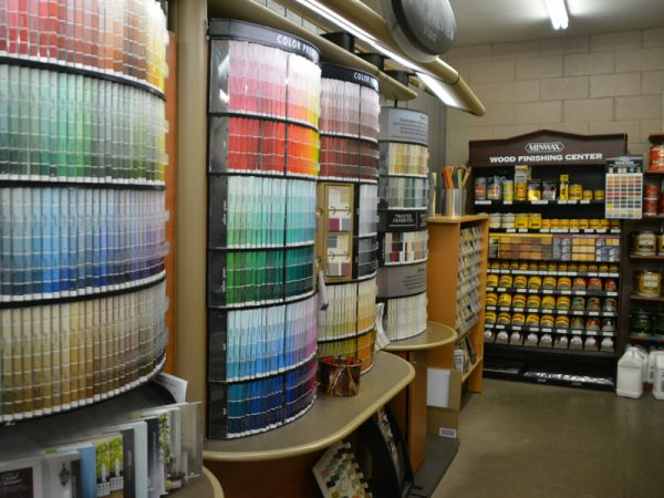 An Extensive Paint and Stain Selection at Norvell's in Fort Bragg, CA
